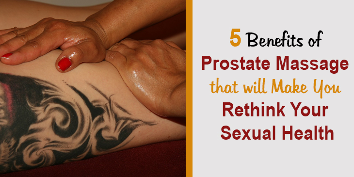 Prostate Massage benefits